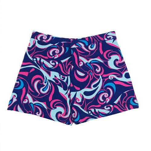 Miami Waves Pink Swim Trunks