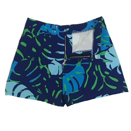 Miami Leaves Green Swim Trunks
