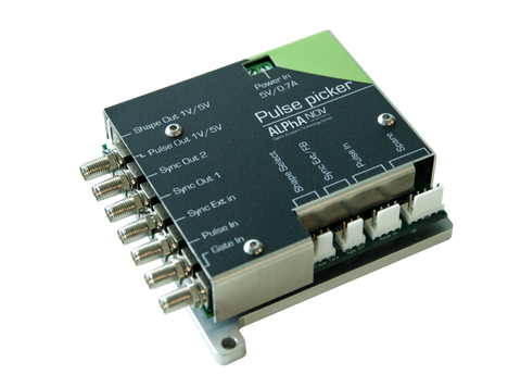 Pulse-Picker Synchronization Electronics Module and Pulse Generator