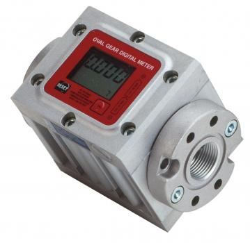 In-Line Meter w/ Display, Gal Calibration, 4.0 - 40 GPM EA