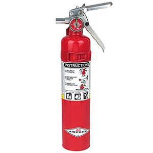 34983 TCP-21/2J/B417T FIRE EXTINGUISHER W/VEHICLE BRKT. EA