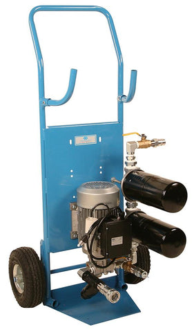 4 GPM Absolute Filter Cart w/ 2 Filters In SRS, 2,000cst Max EA