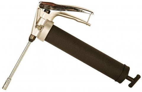 Handgrip Grease Gun,Cast Iron, 14 oz., w/ Rigid Extension EA