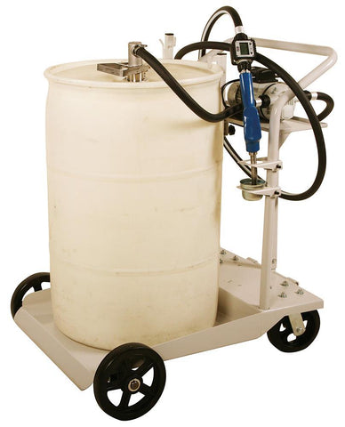 DEF Drum Cart System w/ 8 GPM Pump. Manual Nozzle EA