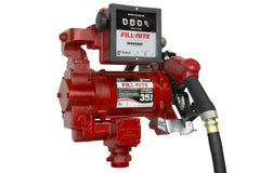"FR311VB 115 VOLT FILLRITE HIGH SPEED WITH METER, 1"" x  18' HOSE,  HI FLOW AUTO DIESEL NOZZLE"