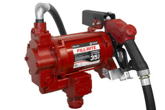 "FR310VB FILLRITE  115 VOLT HI SPEED PUMP WITH 1""X18' HOSE & AUTO NOZZLE (NO METER)"