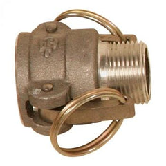 "1½"" Male Cam and Groove Coupler x 1½"" NPTM EA"
