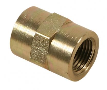 "Coupler Fitting, 1/2"" NPTF x 1/2"" NPTF EA"