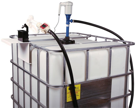 Econo Pump System for 275Gal IBC Totes, w/ Manual Nozzle EA