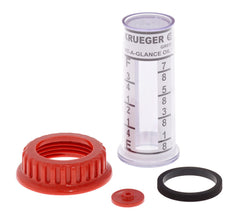 KRUEGER DG-KIT GAUGE REPAIR KIT W/GLASS INNER VIAL FOR GAS/DIESEL PRODUCTS