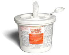 FRESH START DISINFECTING WIPES CLEANS/DISINFECTS IN ONE STEP