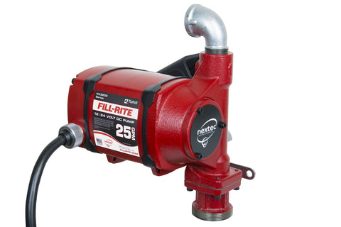 NX3204  FILLRITE 12 VOLT PUMP WITH OUT METER (25GPM) EA