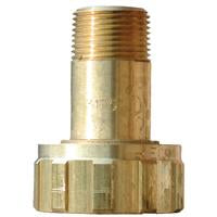 BRASS FILLER COUPLING 3/4 MNPT X 1- 3/4 F.ACME