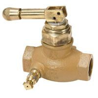 QUICK ACTING VALVE 3/4 F W/LOCKING HANDLE