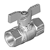 "1/2"" FPT BALL VALVE W/LOCKABLE ""T"" HANDLE"
