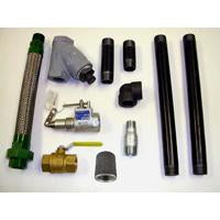 "TANK TO PUMP PIPING KIT FOR 1"" PUMP-INC INTERNAL VALVE,"