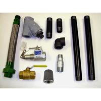 "TANK TO PUMP PIPING KIT FOR 1-1/2"" PUMP-INC INT VALVE,"