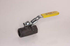 "1/2"" carbon steel ball valve w/ locking handle Jomar"