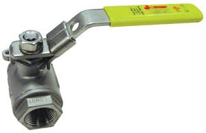 "1/4"" Stainless Steel Full Port Ball Valve"