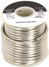 LEAD- AND CADMIUM-FREE SOLDER SPOOL, 1 LB.