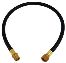 LP GAS HOSE 3/8 IN MIPX3/8 IN FLX24 IN