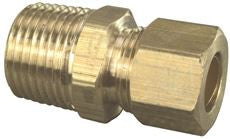 MALE ADAPTER 3/8 IN COMPX1/2 IN MIP