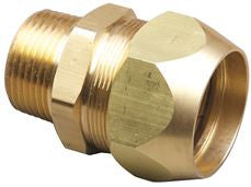 TRACPIPE® AUTO SNAP® STRAIGHT FITTING, 3/4 IN
