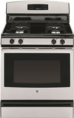 30-INCH 4.8 CU FT. FREE STANDING GAS RANGE,STAINLESS