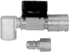 "3/8"" Male Quick Connectx1/2 M Flare w/ 1/2FPT Inlet Connect"
