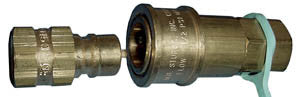 "1/2"" FPT Quick Disconnect Appl Conn 5 PSI, female end only"