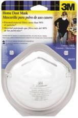 3M TEKK PROTECTION HOME DUST MASK, 5/PK, 12PK/CS