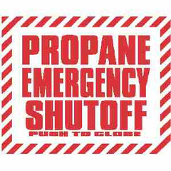EMERGENCY SHUTOFF - PUSH