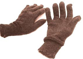 Brown Jersey Glove (pair)