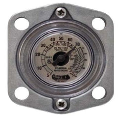 Senior Blind Gauge Head SR Blank Flange Block