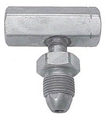 Tee block POL with 1 1/8 hex nut without check