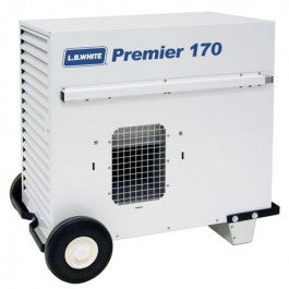 Premier 170M Tent Heater LP includes hose, regulator, tsat