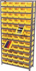 STORAGE BINS SHELF BIN SYSTEM, 96 BINS