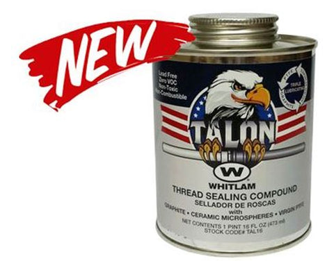 Talon Pipe Thread Sealant w/ Telfon 1/4 pint brush top can