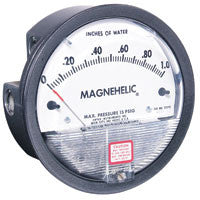 "Magnehelic Gauge 0-20"" WC Buna Diaphrm/IC w/Case"
