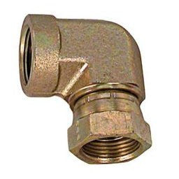 "3/4"" FPT X 3/4"" FPT swivel 90 degree elbow connector"