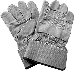 Leather Palm Safety Glove