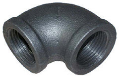"ELBOW-90 DEG 1/2"" SCH 40 BLACK IRON"