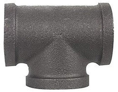 "TEE-1-1/2"" SCH 40 BLACK IRON"