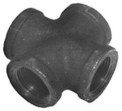 "CROSS-1/4"" SCH 40 BLACK IRON"
