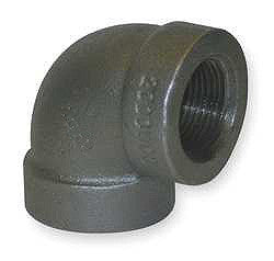 "ELBOW-90 DEG 1-1/2"" FORGED STEEL 2000#"
