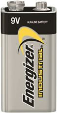 ENERGIZER® INDUSTRIAL™ ALKALINE BATTERY,9 V,12-PACK
