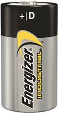ENERGIZER INDUSTRIAL BATTERY D ALKALINE, 12 PACK