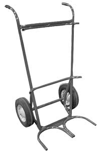 Metal hand truck cart for forklift cylinders*2 X 4 place