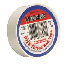 PROPLUS TEFLON TAPE, 3/4 INX520 IN, PACK OF 10