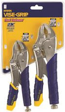FAST RELEASE™ LOCKING PLIERS SET 2 PIECE (10WR®,7WR®)